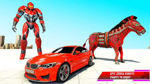 Zebra Robot Car Transformation 1.0.8 Screenshots 11