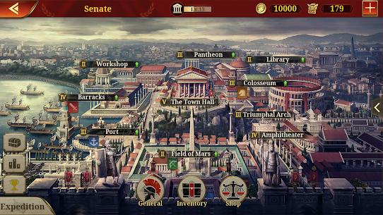 Great Conqueror: Rome MOD APK 1.6.2 (Unlimited Medals) 15