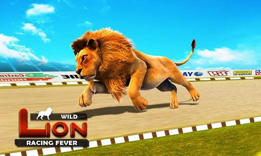 Wild Lion Racing Fever : Animal Racing apkdebit screenshots 11
