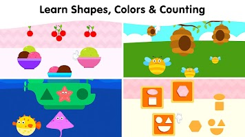 Baby Learning Games for 2, 3, 4 Year Old Toddlers