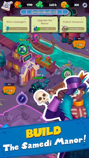 Samedi Manor: Idle Simulator apkpoly screenshots 11