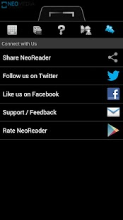 NeoReader QR & Barcode Scanner Screenshot