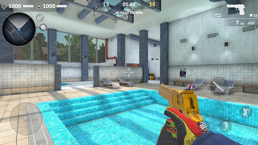Code Triche Critical Strike CS: Counter Terrorist Online FPS (Astuce) APK MOD screenshots 2