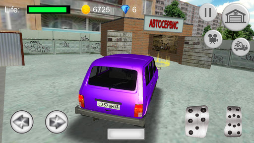 Russian SUV Simulator apkdebit screenshots 3