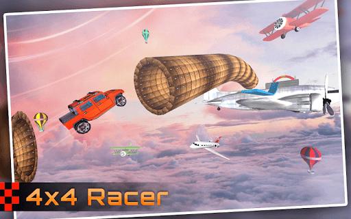 Racing Stunts in Car 3D: Mega Ramp Crazy Car Games  screenshots 1