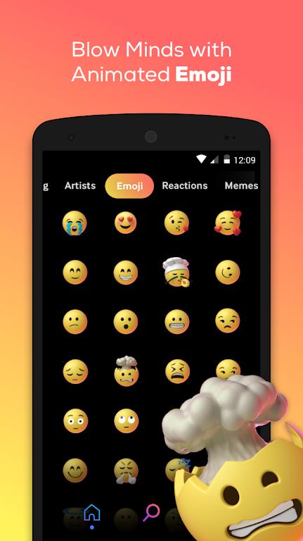 GIPHY: GIF & Sticker Keyboard & Maker  poster 4