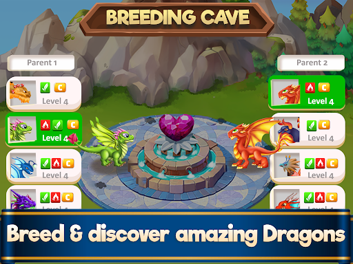 Dragon Paradise City: Breeding War Game  screenshots 9