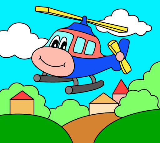 Coloring pages for children : transport 1.1.9 screenshots 22