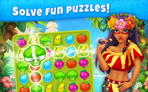 Jungle Mix Match Three: New Jewel in Match-3 Games apkpoly screenshots 9