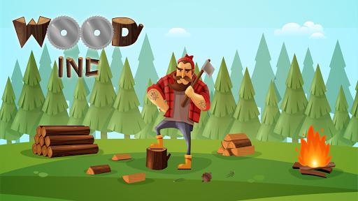 Wood Inc. - 3D Idle Lumberjack Simulator Game 1.1.3 screenshots 1