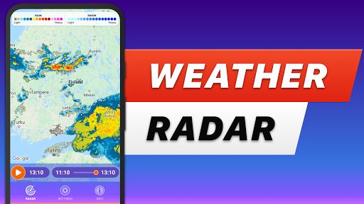 RAIN RADAR - animated weather radar & forecast 2.3 com.deluxeware.rainradar apkmod.id 1