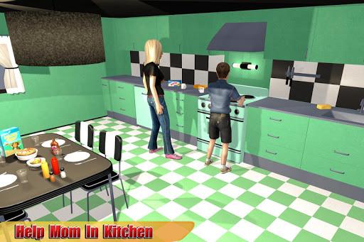 Virtual Boy: Family Simulator 2018 apktram screenshots 8