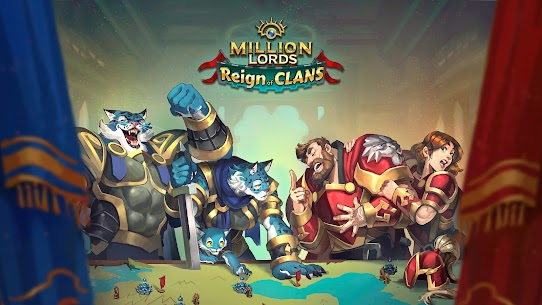 Million Lords: MMO de estrategia en tiempo real. 1