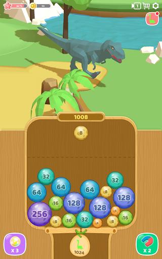 Dino 2048: Merge Jurassic World 1.0.9 screenshots 10