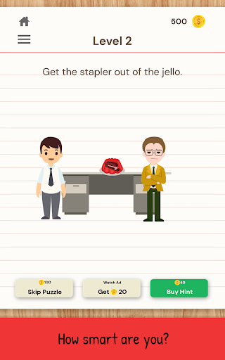 The Moron Test: Challenge Your IQ with Brain Games  screenshots 4