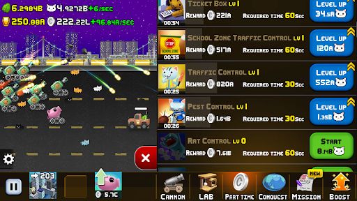 Idle Cat Cannon modavailable screenshots 11