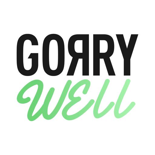 GorryWell Solusi Gizi dan Gaya Hidup Sehat Digital icon