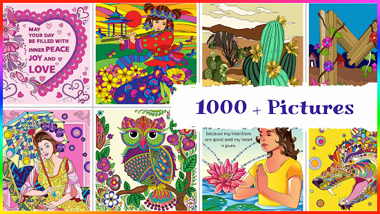 stress relief adult color book hack