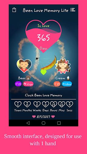 Been Love Memory Lite - Love Counter Lite 2020 1.1.3 Screenshots 3