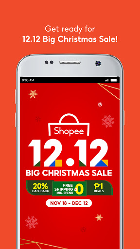 Shopee 12.12 Christmas Sale 2.62.30 screenshots 2