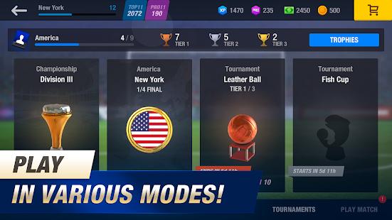 11x11: Soccer Club Manager screenshots 5