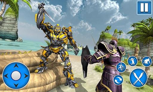 Télécharger Sword Robot Fighting Game: Sword Robot Hero mod apk screenshots 3