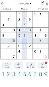 Sudoku – Free Classic Sudoku Puzzles Apk Download NEW 2021 3