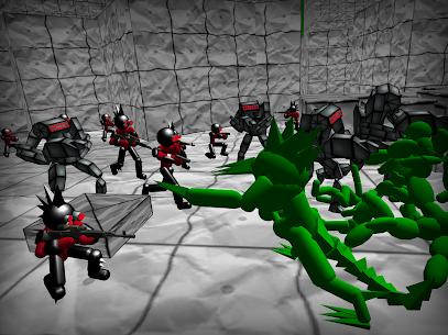 Battle Simulator: Stickman Zombie 10