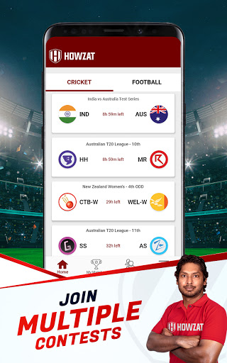 Howzat Fantasy Cricket App - Free Fantasy Games apkdebit screenshots 10