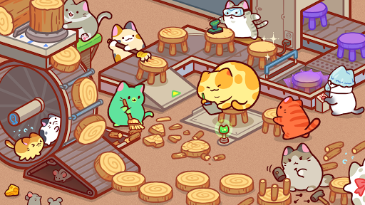 Kitty Cat Tycoon : make cat tree 1.0.10 screenshots 1