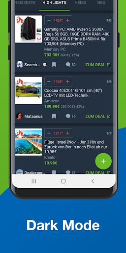 mydealz u2013 Gutscheine, Angebote 5.54.00 Screenshots 6