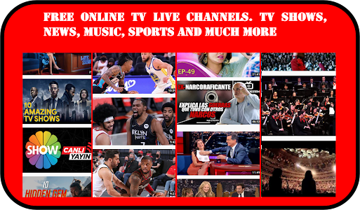 Free tv online. Streaming and live channels 22