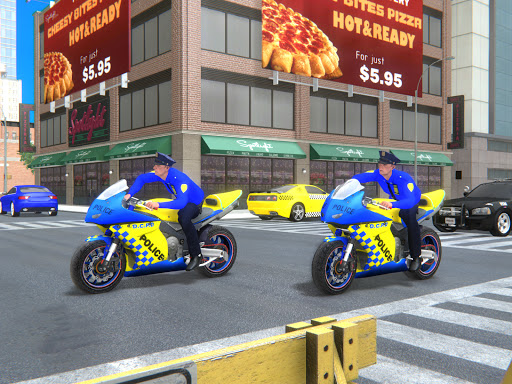 US Police Bike Gangster Crime - Bike Chase Game 3D 1.12 Screenshots 11