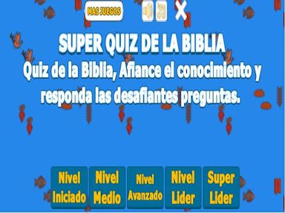 SUPER QUIZ DE LA BIBLIA (JUEGOS BIBLICOS) 1.10 screenshots 1