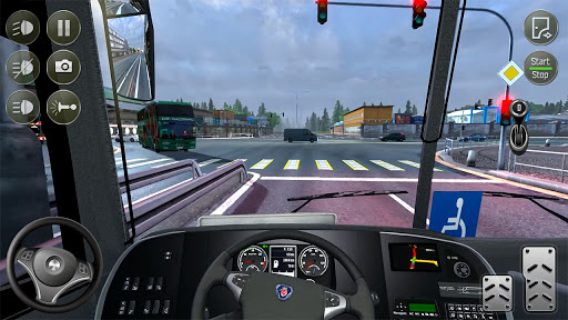 Euro Bus Simulator 2021 : Ultimate Bus Driving screenshots 7