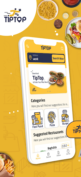 TipTop Food & Grocery Delivery