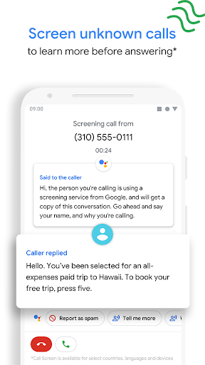 Foto do Phone by Google - Caller ID & Spam Protection