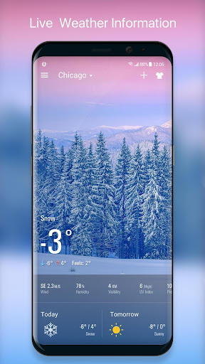 Live Local Weather Forecast 16.6.0.6328_50170 Screenshots 2