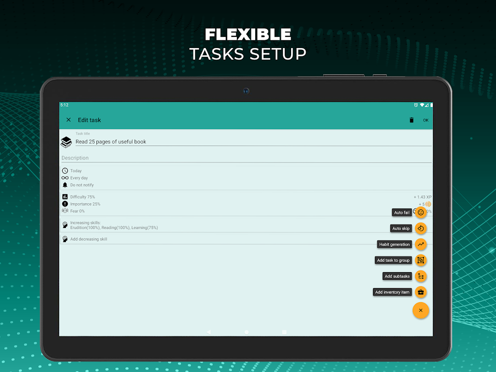 Do It Now: RPG To Do List. Habit Tracker. Planner  poster 10