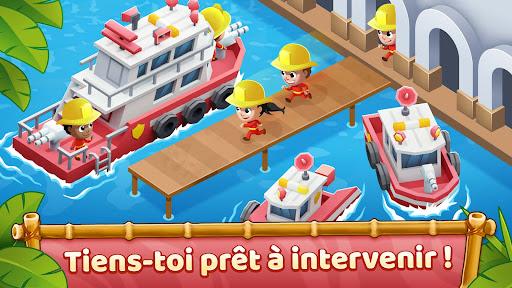 Code Triche Idle Firefighter Tycoon - Simulateur de Pompier APK MOD (Astuce) screenshots 2