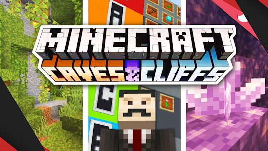 Mod Caves and Cliffs for MCPE 1
