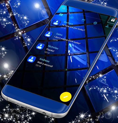 Blue SMS Theme 2021 1.323.1.32 screenshots 1