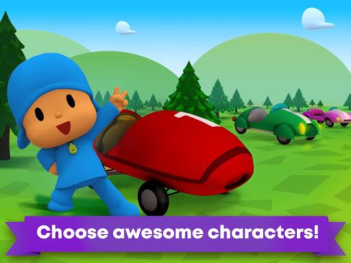 Pocoyo Racing: Kids Car Race - Fast 3D Adventure  screenshots 8
