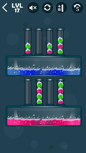 Balloons Sort Puzzle apkpoly screenshots 8