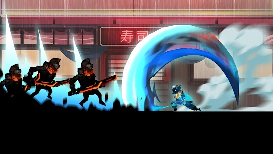 Cyber Fighters: League of Cyberpunk Stickman 2077 Screenshot