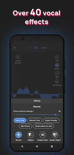 Voloco: Auto Voice Tune + Harmony 6.3.2 Screenshots 5