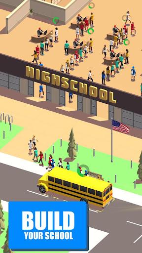 Idle School 3d - Tycoon Game  screenshots 1