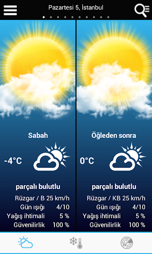 Weather for Turkey modavailable screenshots 1