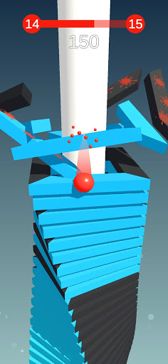 Stack Ball - Blast through platforms apkslow screenshots 6