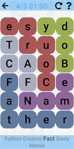 Word Search - Free word games. Snaking puzzles 2.1.4 screenshots 5